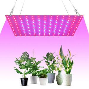 81/169 Led Grow Light Panel Full Spectrum Lamp for Hydroponics Indoor Plant Vegs