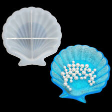 Sea Shell Dish Silicone Fondant Mould Cake Border Decor Baking Mold Sugar Craft