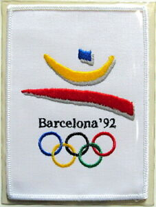 1992 SUMMER OLYMPICS XXV Barcelona OLYMPIC GAMES PATCH Willabee Ward PATCH ONLY