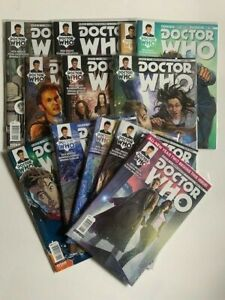 Doctor Who: The Tenth Doctor Year Two #1-5, 7-11, 13 15 Lot of 12 Titan Comics
