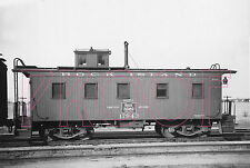 Rock Island (RI) Caboose 17943 at Topeka KS in 1938 - 8x10 Photo