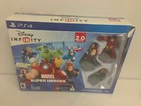 PS4 Disney Infinity:Marvel Super Heroes (2.0 Edition) OPENED BOX