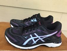 Asics GT-2000 7  1012A147 Women's Athletic Running Shoes Black Blue Size 8