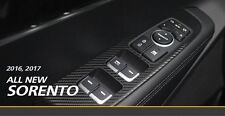 3M 3D Carbon Sticker: Window Switches for KIA 2016 2017 SORENTO