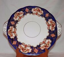 Royal Albert England Bone China Heirloom Handled Cake Plate- Scalloped Rim