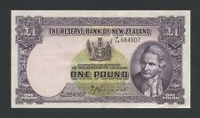 More details for new zealand  £1  1940  hanna sig p159a  about ef banknotes