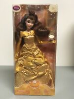 Disney Princess Classic Belle Doll with teacup Chip - Beauty and the Beast - NEW