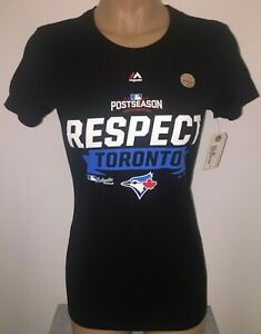 Majestic TORONTO BLUE JAYS 2016 MLB Women's T-Shirt M