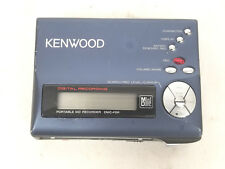 Very Rare Kenwood Minidisc Player Recorder Model DMC-F5R Tested & Works