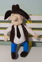 BOB KATTER PLUSH TOY! APPROX 40CM TALL AUSTRALIAN POLITICIAN SOFT TOY!