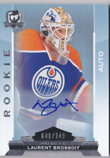 14-15 The Cup Laurent Brossoit /249 Auto Rookie Oilers 2014