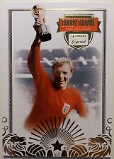 Panini Bobby Moore England West Ham legend Limited Edition Card numbered to 1966