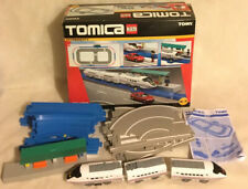 Tomica Hypercity 85403 Railway Train & Road Set TOMY Boxed Incomplete NotWorking