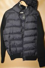 #131 Scotch and Soda Blue Down Fill Hooded Jacket Size XL