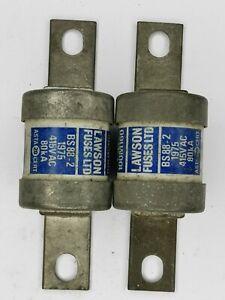 2x TCP 100M 160 Lawson fuse 415Vac 80kA old stock