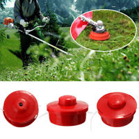 3X Fadenspule Doppelfadenkopf für Motorsense Fadenkopf Tippautomatik