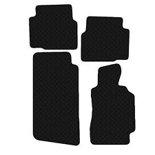 Black Fully Tailored Rubber Car Floor Mats For BMW E36 3 Series Coupe 92-98