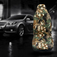 2x Camo Seat Covers Camouflage Universal Car Auto Truck Full Surrounded Military