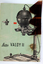 Original Leitz NY Sales Brochure for Leica VALOY II Enlarger -8 pages -Nov. 1954