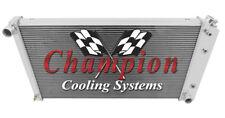 1977 - 1992 Cadillac Fleetwood/Brougham RC Champion 3 Row Radiator