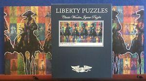 "LIBERTY PUZZLES - Rompecabezas by Duke Beardsley 543 pieces 10.75"" x 21.75"""