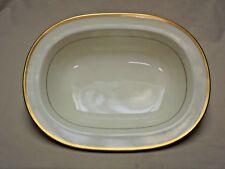 """Noritake Bone China Japan Troy Pattern 9726 10"""" Oval Vegetable Bowl 1979 - 1996"""