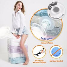 Vacuum Storage Bags for Clothes, Quilts, Pillows, Space Saver Extra Strong