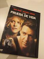 Dvd PRUEBA DE VIDA CON MEG RYAN Y RUSSELL CROWE