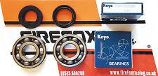 Yamaha DTR125 DT125 R Koyo Crankshaft Main Bearing & Seal Kit