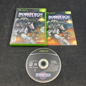 Robotech: Battlecry, Complete in Case, Microsoft XBOX