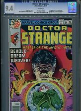 Dr Doctor Strange #32 CGC 9.4 (1978) 1st First Dream Weaver White Pages