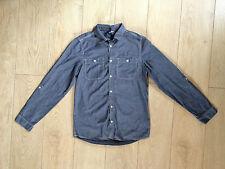"Mens H&M Bluey Grey Long Sleeve Shirt XSmall 37"" Chest"