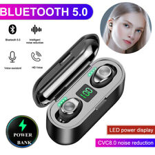 Bluetooth 5.0 Headset TWS True Wireless Headphones Earbuds Mini Stereo Earphones