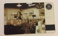 Starbucks Coffee Gift Card RARE Limited Ed. 2006 Pike Place Barista • No Value