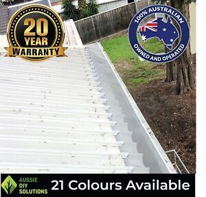 10m Klip-Lok Roof Aluminium Mesh Gutter Guard Installation Kit. Bird Proofing