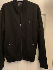Ralph Lauren Jacket Size M Men's Good Condition Black Soft Shell Genuine