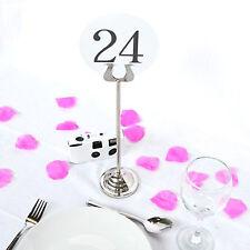 """2 x 12 """"de 30cm Catering estándar Mesa número los titulares de cual-Envío Gratis"""