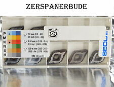 10 Wendeplatten DNMG 150612-MF2 TK2001  DURATOMIC  SECO Guss - Bearbeitung