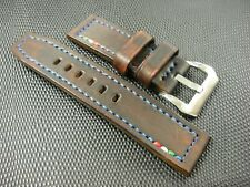 Made in Italy watch strap genuine cowhide leather width 26/24 mm Vintage Panerai