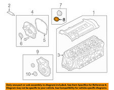 AUDI OEM 02-15 A4 Quattro Engine Parts-Filler Cap Gasket 036115111B