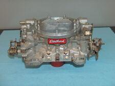 Edelbrock Afb 4 Barrel Carburetor 750 Cfm Carb 1407 Core Withchoke For Rebuilding