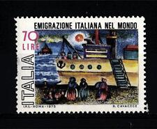 ITALIA REP. - 1975 - Emigrazione italiana nel mondo