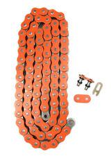 Orange 520x118 O-Ring Drive Chain ATV Motorcycle MX 520 Pitch 118 Links