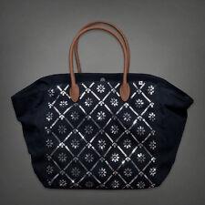 NWT Abercrombie It bag navy shine purse bag tote