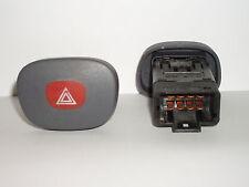 Renault Clio II hazard light switch 1998 to 2001. 7700421820.