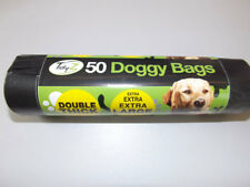 800 XXL Super Strong Double Thick Doggy Poo Bags 16 X50 Rolls 32cm X 38cm Waste