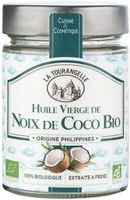 La Tourangelle Huile Vierge Noix de Coco BIO 100% Pure et Naturelle - 314ml