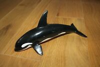 ORCA KILLER WALE FIGURE, SCHLEICH, MADE BY MAIA BORGES, PORTUGAL, 1995. 1:32
