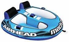 New Airhead Mach 2 Inflatable Double Rider Towable Lake Water Tube | AHM2-2