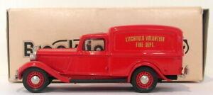 Brooklin 1/43 Scale BRK16 029A  - 1935 Dodge Van  Litchfield Fire 1 Of 400